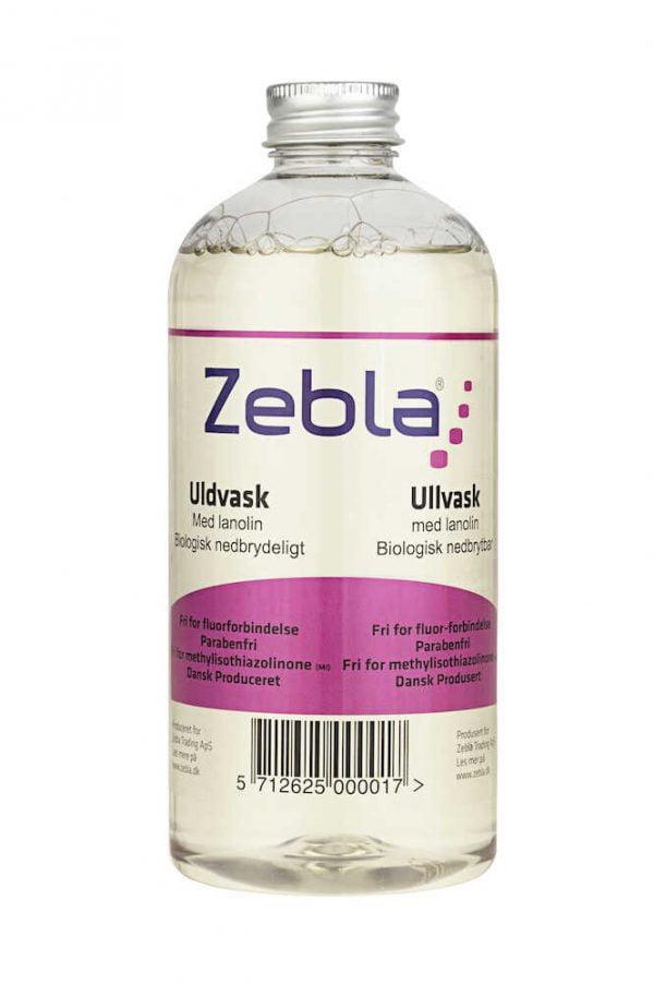 Uldvask Zebla